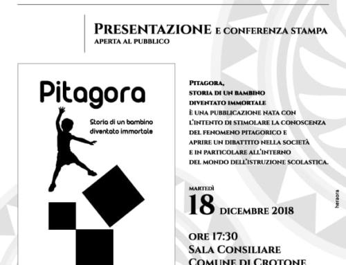 Presentazione del testo Pitagora – Storia di un bambino diventato immortale