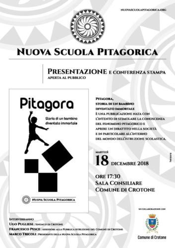 Presentazione testo Pitagora - Storia di un bambino diventato immortale
