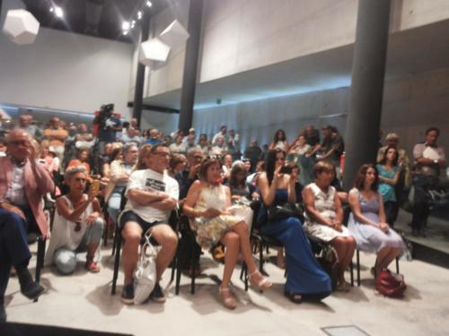 Cerimonia d'inaugurazione della Nuova Scuola Pitagorica 18/08/2016 la platea