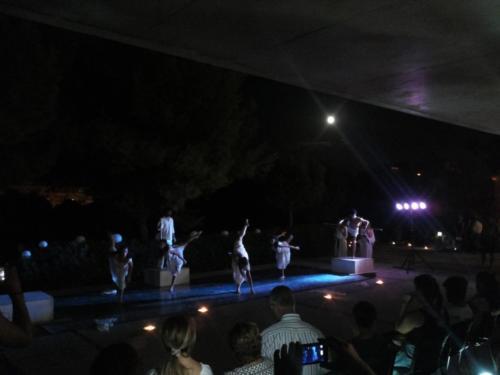 Cerimonia d'inaugurazione della Nuova Scuola Pitagorica 18/08/2016 spettacolo artistico