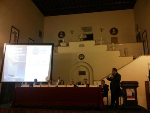 Il Prof. Lopez all'Accademia della storia medica