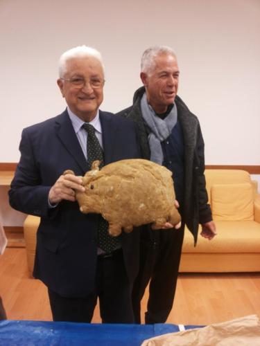 Mongiardo con il Bue di Pane a Roma
