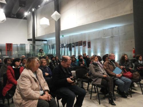 Platea durante un incontro della NSP