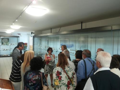 La delgazione di Samo a Crotone per il gemellaggio - visita al Museo
