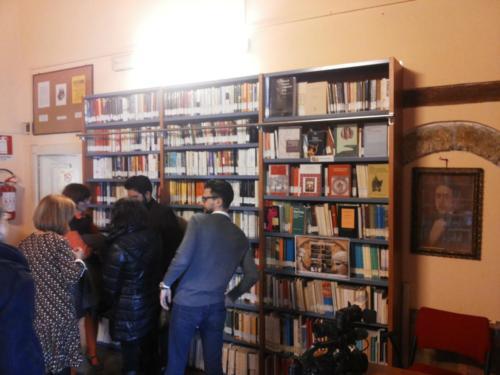 Inaugurazione fondo librario Pitagora