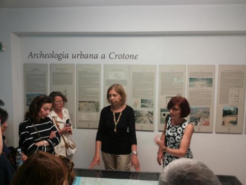 Visita al Museo di Crotone con la delegazione di Samo