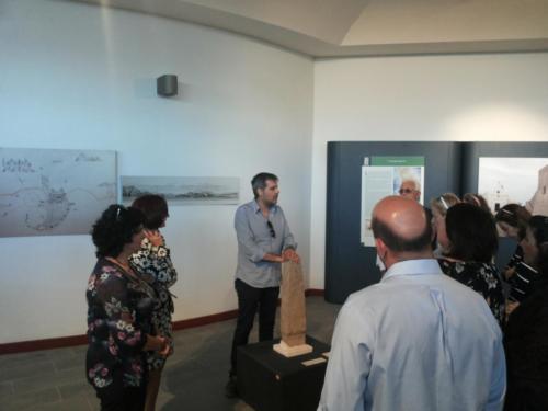 Visita al Museo di Capo Colonna con la delegazione di Samo