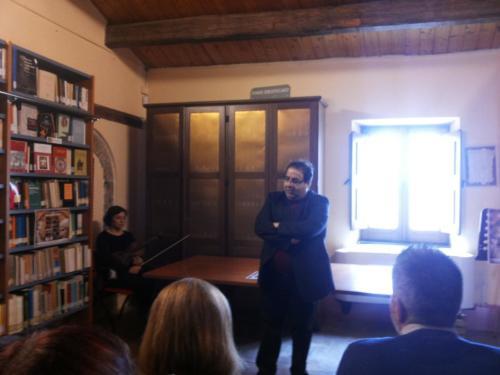 Inaugurazione del Fondo Librario Pitagora - Prof. Lopez